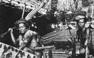 Headhunters Borneo